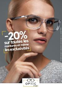 20% de réduction sur vos lunettes dans votre magasin A&F Optic à Chassieu près de Lyon